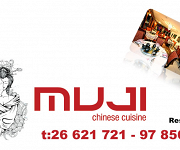 Logo for Muji Chinese & Japanese Restaurant  (PAPHOS)