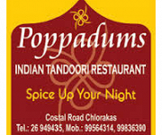 Logo for Poppadums Indian Tandoori Restaurant  (PAPHOS)
