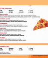 Andy's Pizza Menu Page