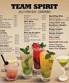 Yankees Restaurant & Bar Menu Page