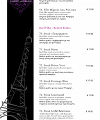 French Rendez-Vous Menu Page