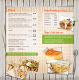 Healthy Bites Menu Page