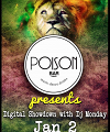 Poison Bar presents Digital Showdown with Dj Monday Limassol Photo