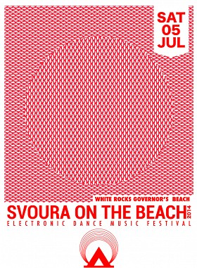 Logo for Svoura on the Beach'14 {24hrs Electronic Dance Music Festival}  (LIMASSOL)
