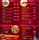 Harry's Pizza Menu Page